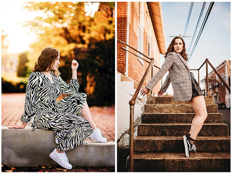 Christiana| Music + Fashion-Inspired Senior Session | C. Milton Wright | Class of 2021 | Bel Air, MD
