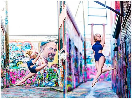 Zoe | Graffiti Alley Dance Photos | Baltimore Dance Photographer | Headshot Photographer