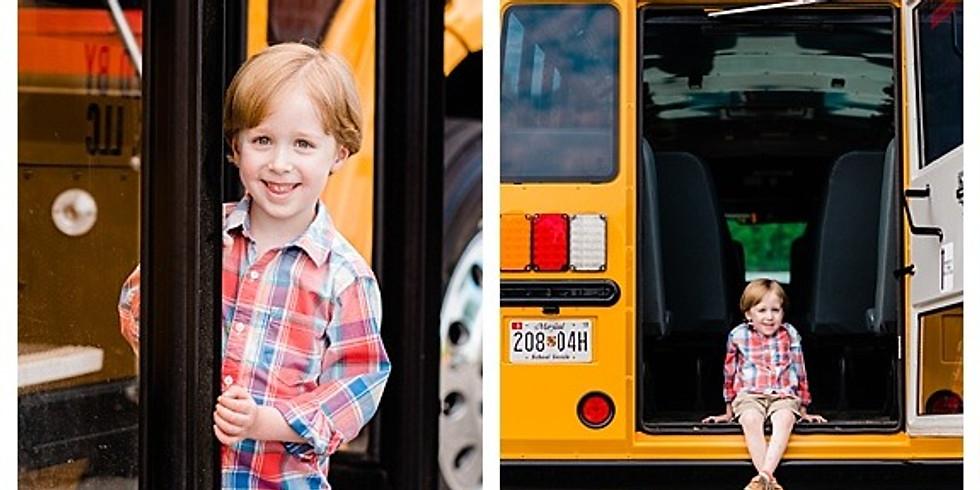 Pre-K Graduation / School Bus Mini Sessions