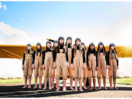 Onward | Flight-Inspired Dance Photoshoot | Rage Box Dance Center | Maryland Dance Photographer
