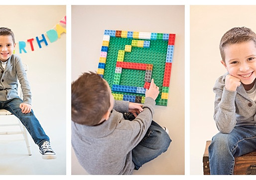 Maryland Mini Sessions // Legos, Trains & Silly Games... That's What Little Kids Are Made Of