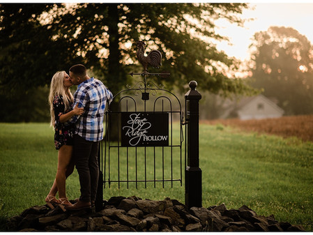 Harford County Engagement Photographer // Brandon Pops the Question // A Surprise Engagement at Ston