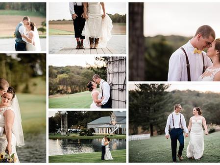 Anna + Corbett // Stone Ridge Hollow // Harford County Wedding Photographer