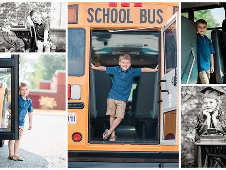 Harford County Child Photographer // Introducing the Graduating Class of 2031 // Preschool Graduatio