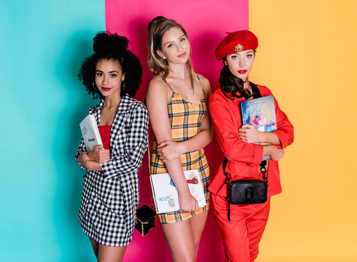 Clueless 25th Anniversary: Editorial Shoot Inspired by the 90's Classic // MD Senior Photographer