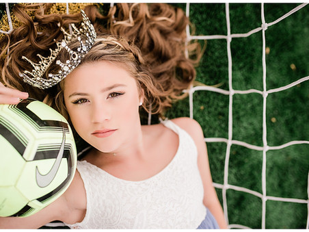 Reese | Sports Princess Photo Session | Soccer + Lacrosse | Maryland Tween Photographer