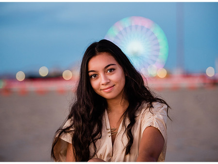 Maddie | Class of 2021 | Fallston High | Beach Inspired Senior Session
