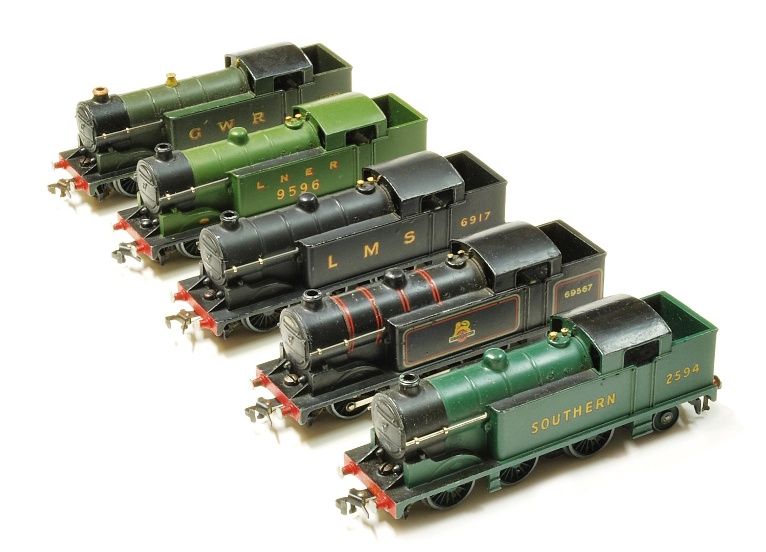 0-6-2 Dublo Tanks in various liverie