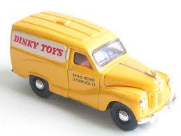 Dinky Toys advert van