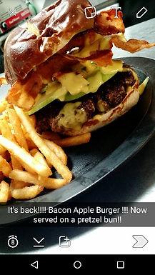 Bacon Apple Burger