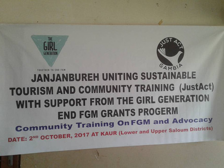 Just Act provide FGM Training in CRR