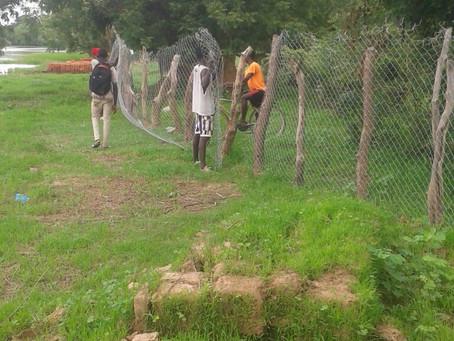 Wassalung Garden fencing completed!