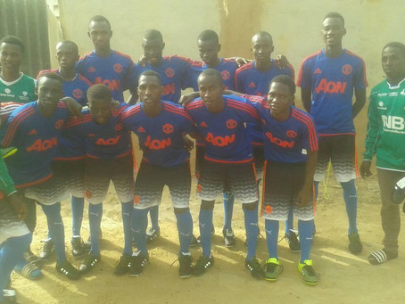 A simple blog for Gambian access re Kit Aid football kit donation