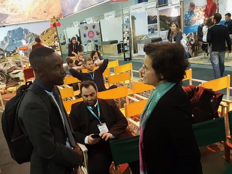 Janjanbureh represented in IT Berlin - 'The World's Leading Travel Show'