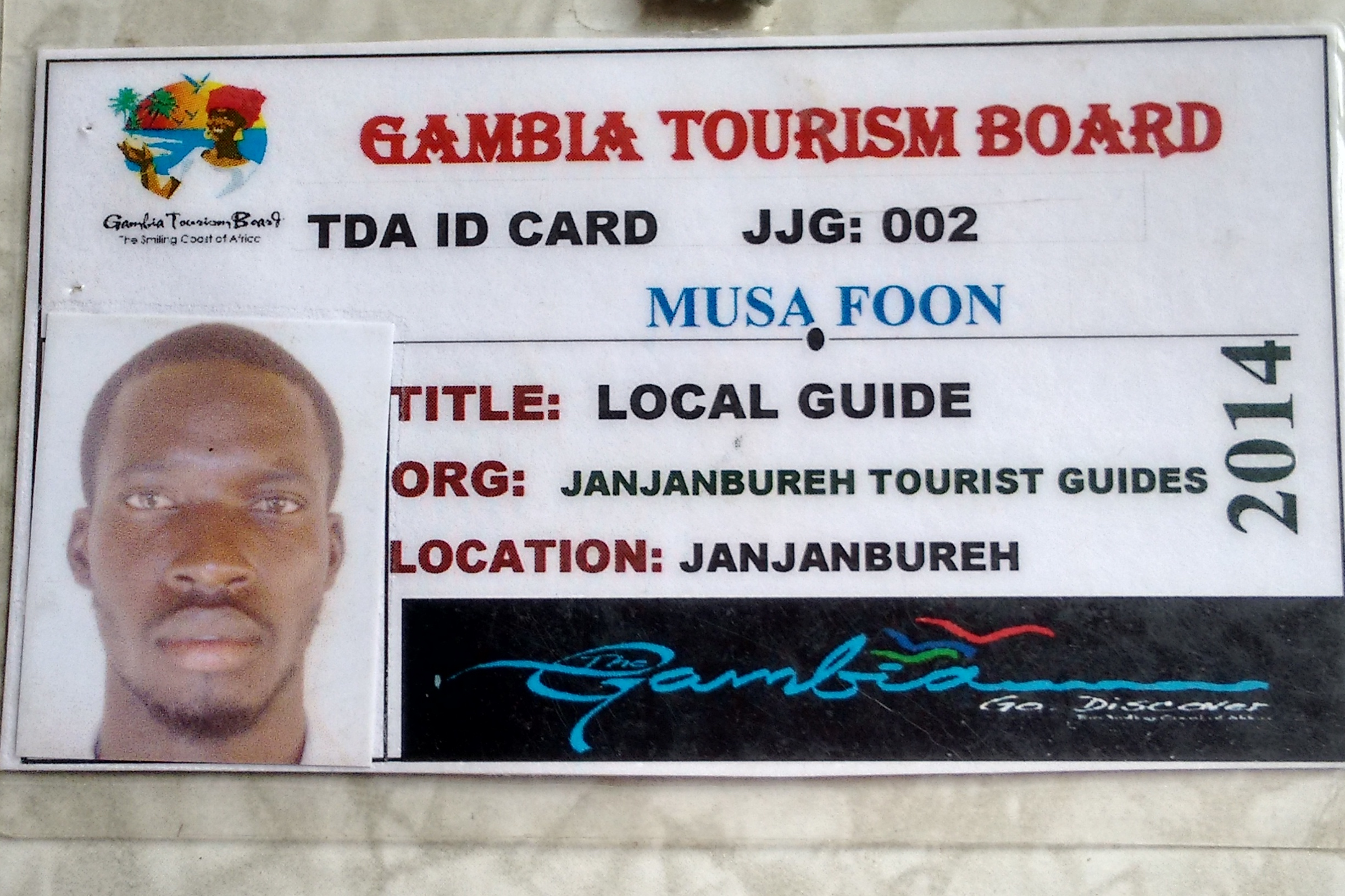 An Official Tour Guide Licence