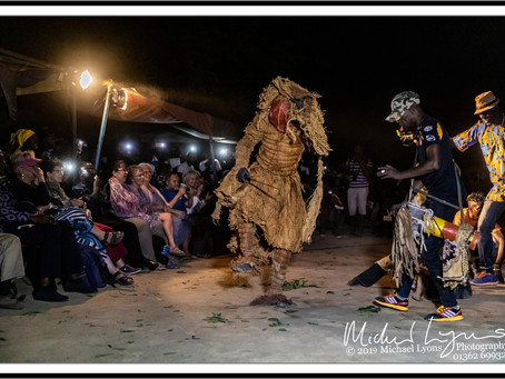 The 2nd Kankurang  Festival through the eyes of Professional Photographer, Michael Lyons
