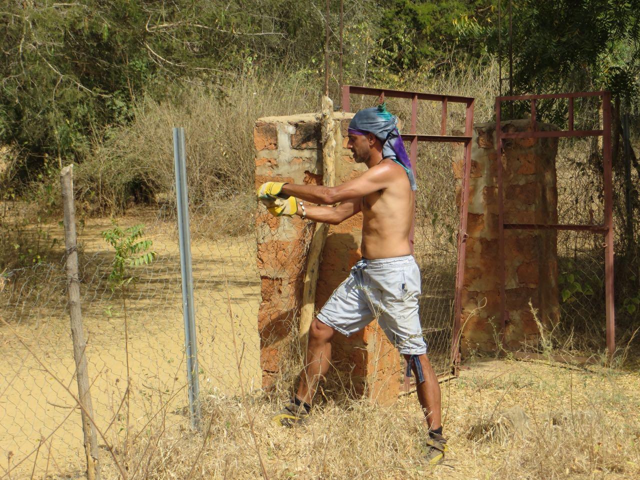 Reinforcing fences