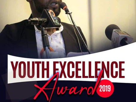 Our Director, Omar Jammeh, wins 2019 Youth Excellence Award