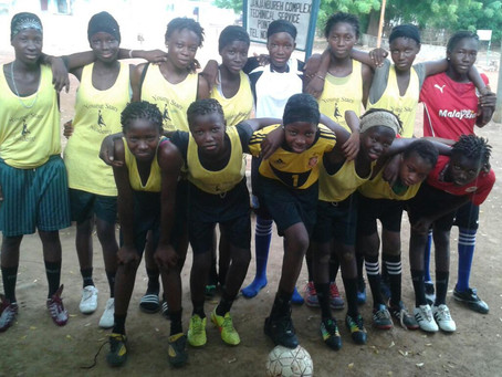 Update on funding for football boots for our female team