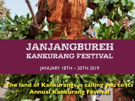 The Second Kankurang Festival 18-20th 2019 Leaflet