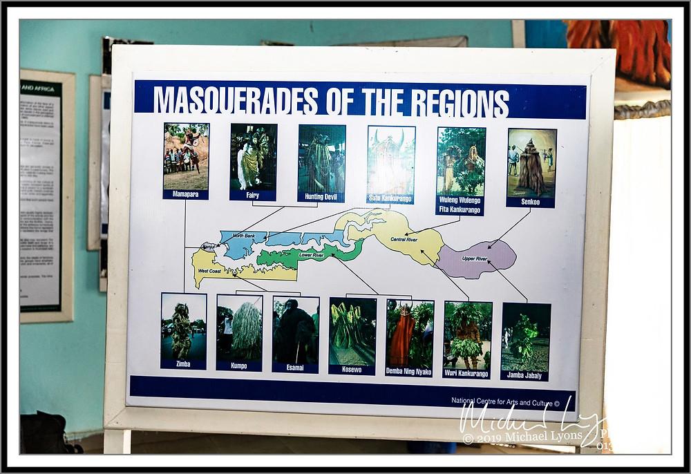 Masquerades of the regions