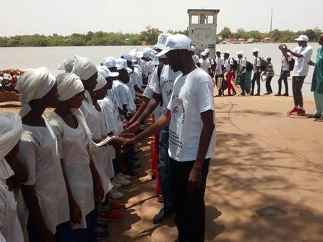Naturefriends International enable Senegal/Gambian pupil exchange in Janjanbureh