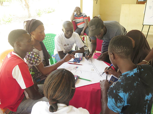 Active Youths interact with Village Youths