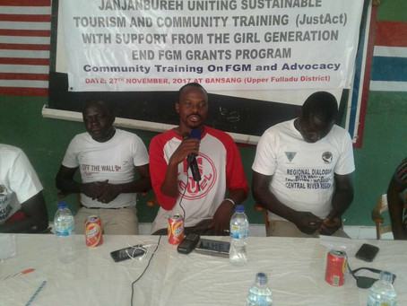 Bansang receives FGM training through Just Act
