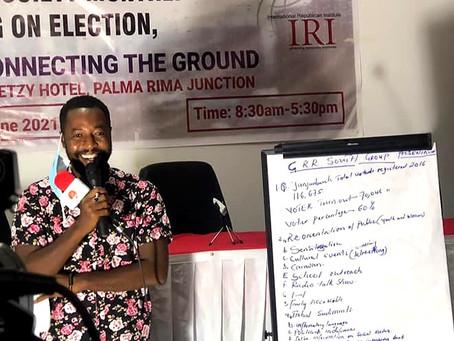 Omar Jammeh reports: Voters' registration June 26th '21