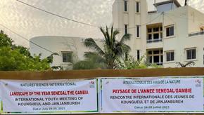 NFI sponsor Koungheul/Janjanbureh pupil workshops 24th -29th July 21