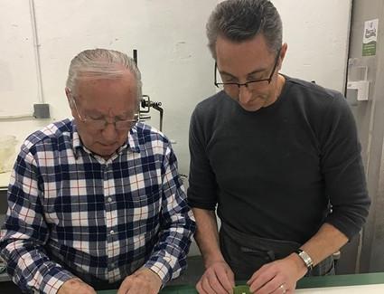 Bozza squared- Michael and his father