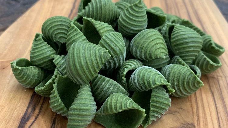 Gluten Free Spinach Shells
