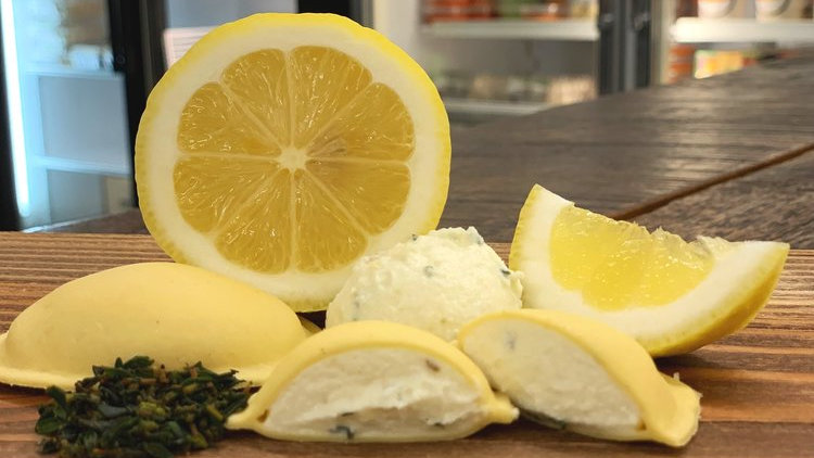 Goat Cheese with Lemon