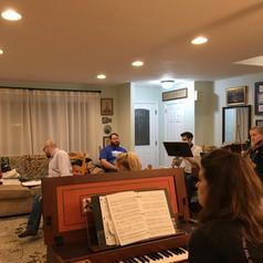 At Rehearsal