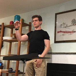 David conducting rehearsal