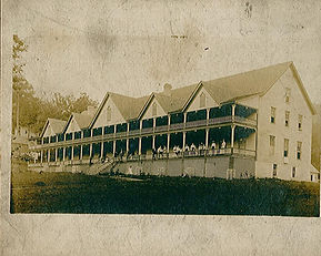 The first hotel at Montvale, built in 1832