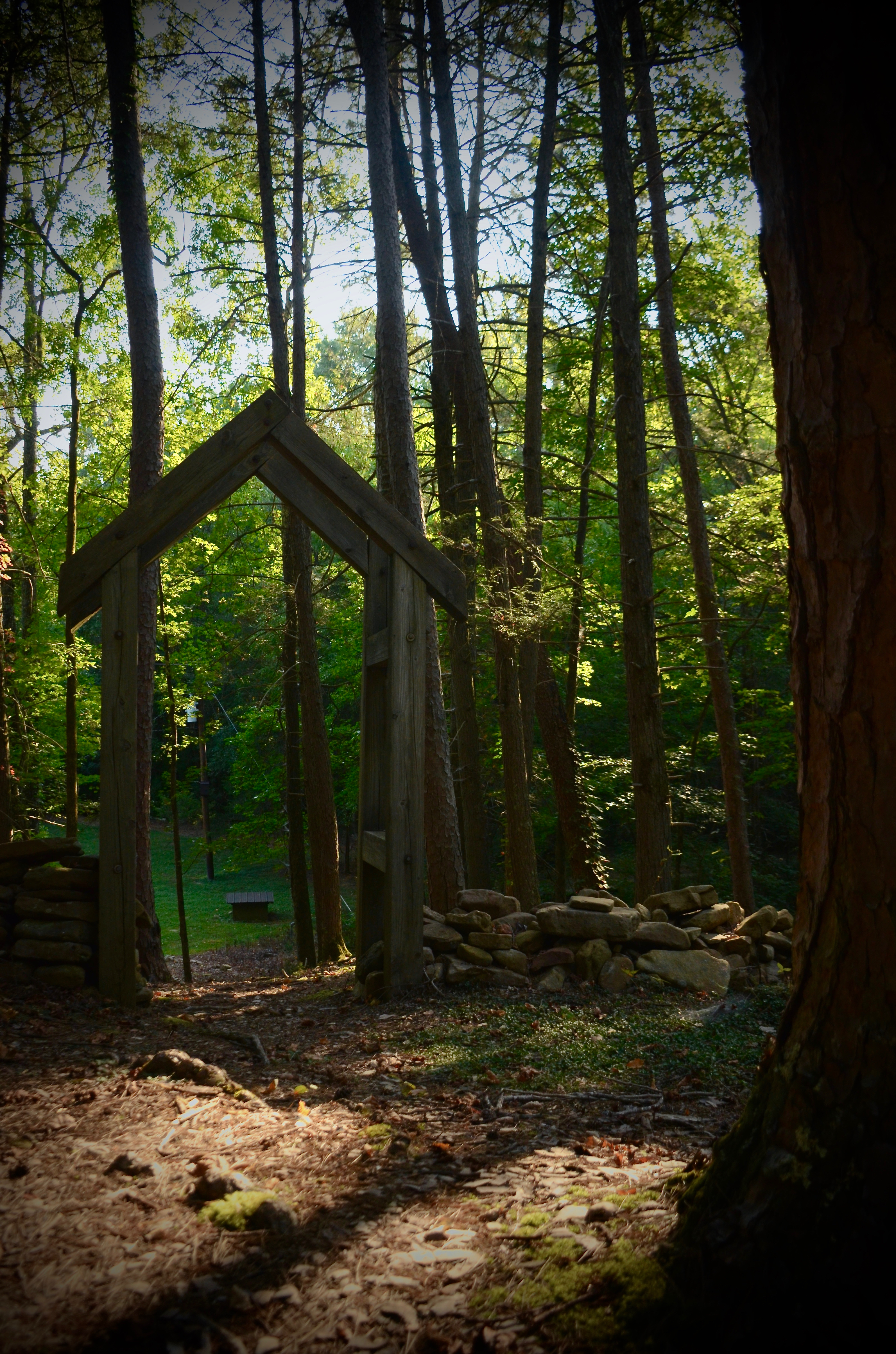 Gathering place in wooded Montvale