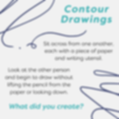 Contour Drawing (Dances, Doodles, and Di