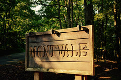 Entrance to Montvale Sign