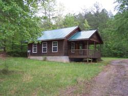 Creekside cabin at Montvale