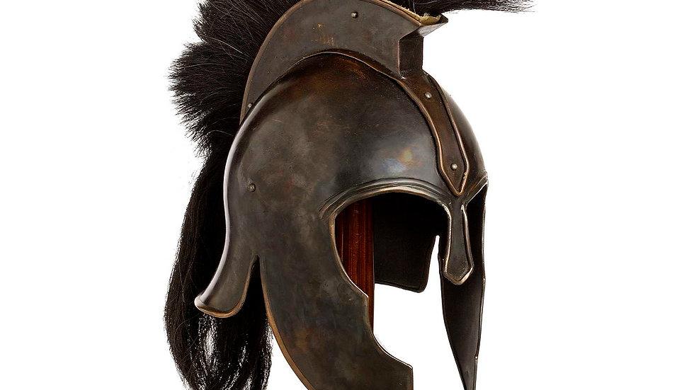Trojan Helmet and Stand