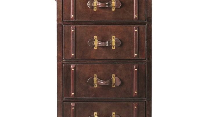 Havana Chest Of Four Drawers - Cigar