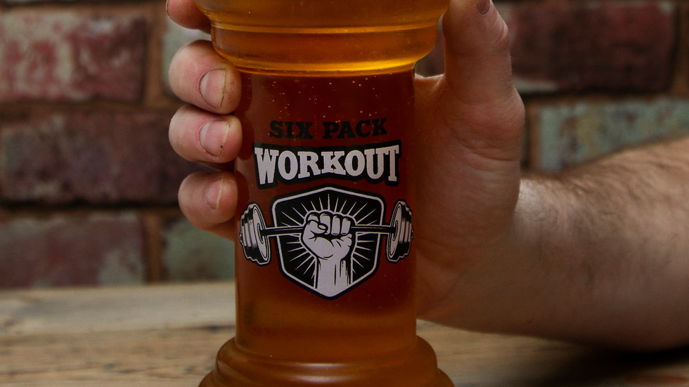 Beer Gym Glass
