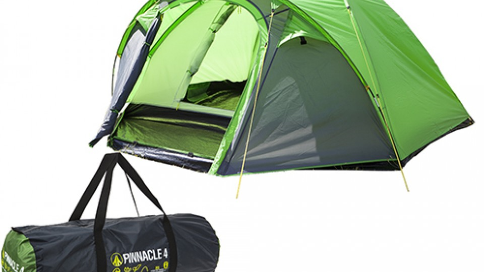 Summit H-Halt Pinnacle Double  Skin Dome Tent 4 Person
