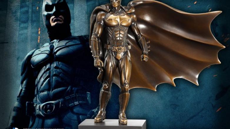DC - Batman Begins Solid Bronze Sculpture