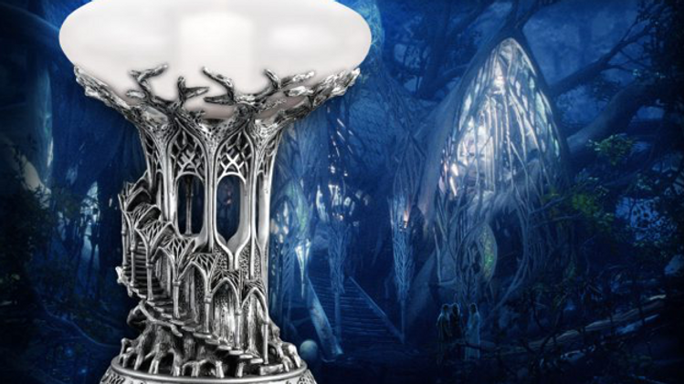 Lord Of The Rings -Lothlorien Candle Holder