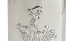 Hip Flask Golfer Design - 6oz