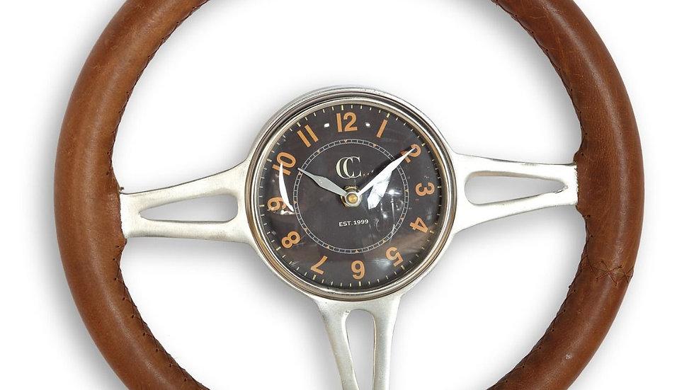 Hawthorn Vintage Steering Wheel Wall Clock