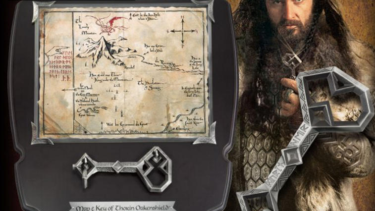 The Hobbit - Thorin Map & Key – Small