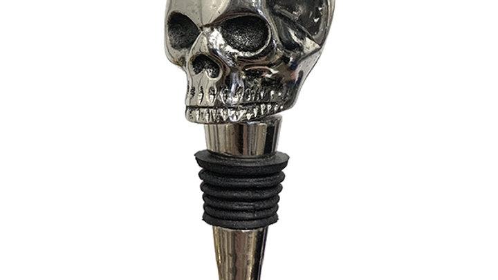 Skull Bottle Stopper